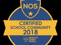 National Online Safety Certified School Community Logo